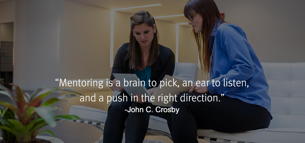John Crosby Quote about Mentoring