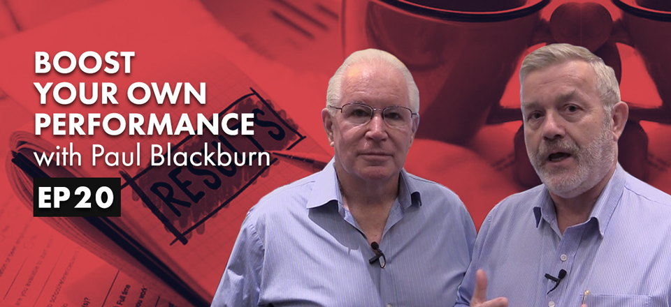 Boost Your Own Performance with Paul Blackburn
